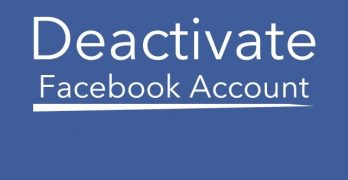 Block Facebook Account – How To Deactivate Your Account Temprarily
