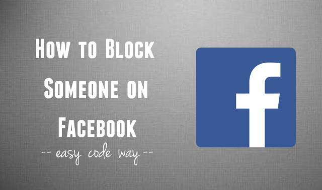 Block Facebook Friend