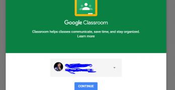 google classroom sign up
