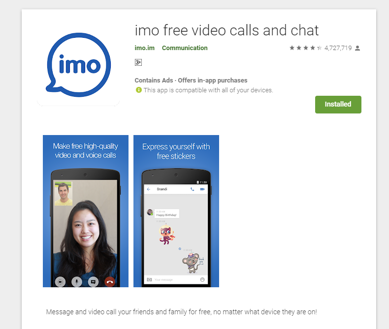 Imo online chat