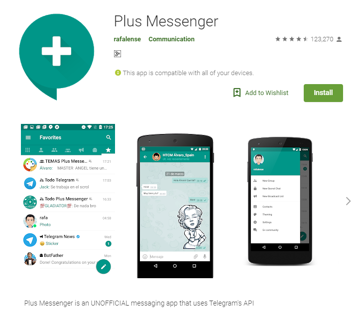Telegram Plus Telegram Plus Apk Download Techsog