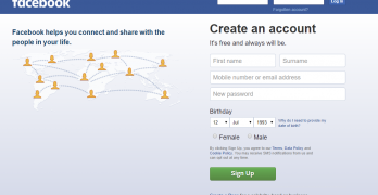 Facebook Sign Up – How to Sign Up On Facebook | New Facebook Account