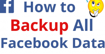 Backup Facebook Data  | How to Backup your Facebook Data | Backup facebook photos