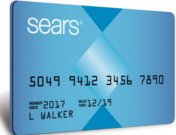 searse credit card application