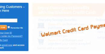Walmart Credit Card Payment   How to Make a Walmart Credit Card Payment