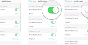 WhatsApp Notification Settings | How To Configure WhatsApp Notification