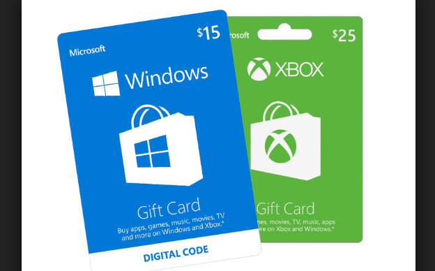 Microsoft Gift Card | Buy Microsoft Digital Card | Redeem