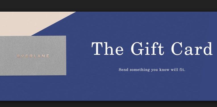 everlane gift card