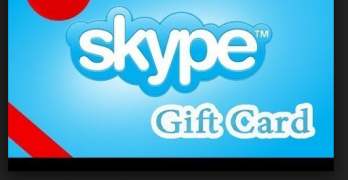 Skype Gift Card | Buy Skype Gift Card | Redeem our Skype Gift Card