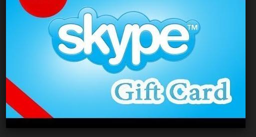 skype gift card