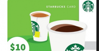 Starbucks Gift Card | Best Gift card For Coffee Lovers