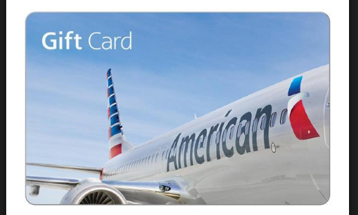 american airline gift card