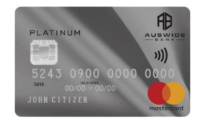 Auswide Platinum Mastercard