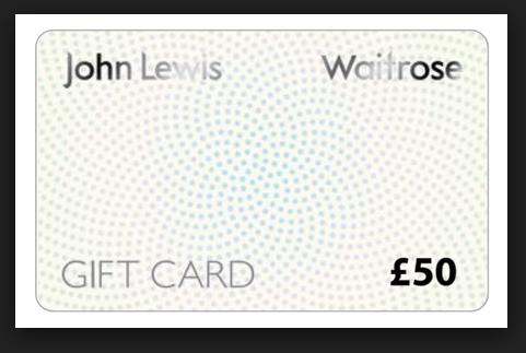 john lewis gift cards
