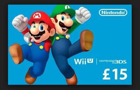 nintendo gift cards