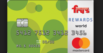 Fry's credit card