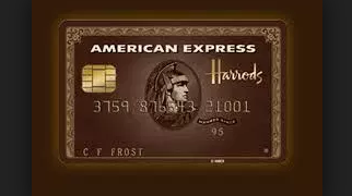 harrods credit card