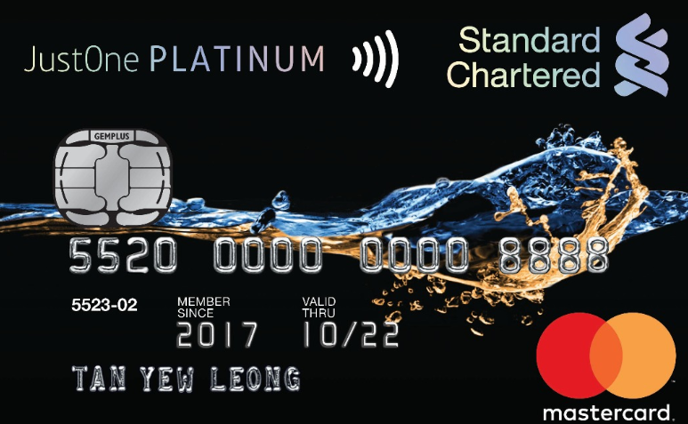justone platinum mastercard