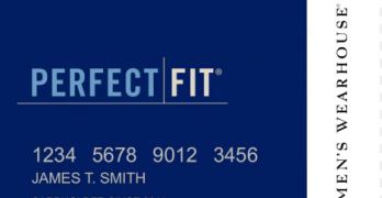 perfect fit credit card