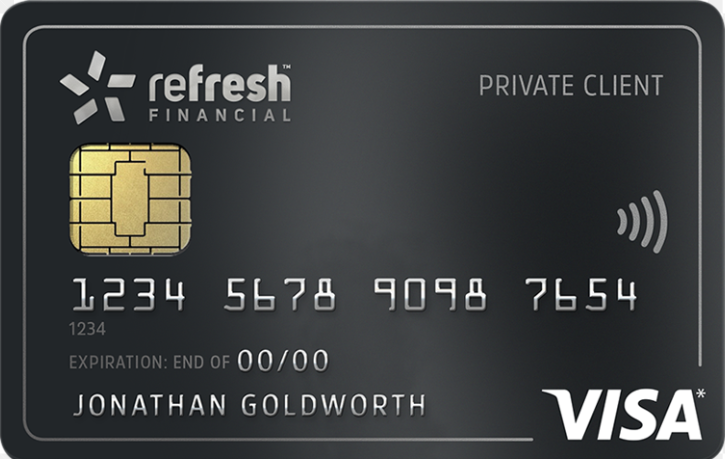 Refresh Financial Secured Credit Card