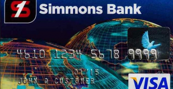 simmons visa credit card