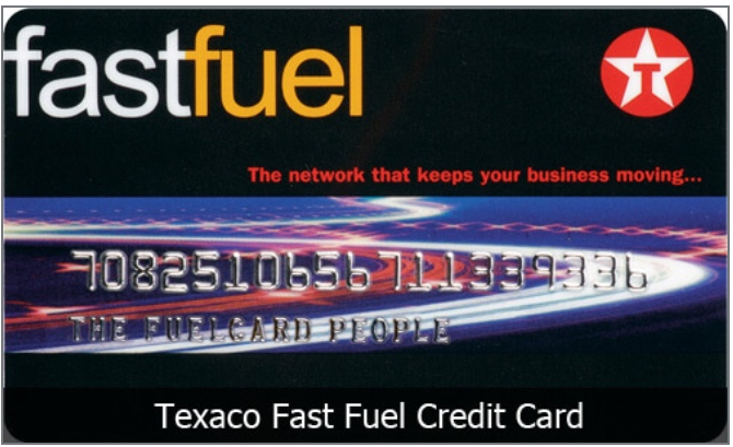 texaco faster fuel credit card