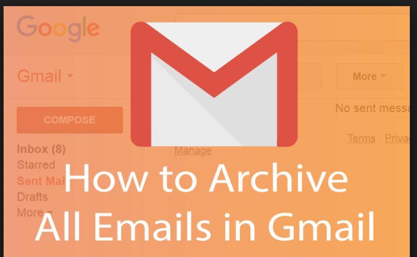 gmail archive folder