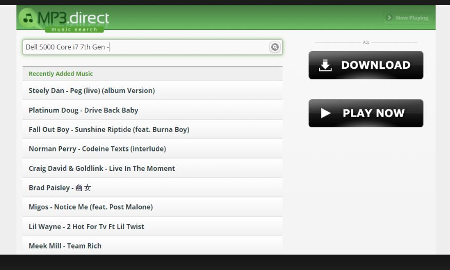 Mp3.Direct Free Music Downloader Online
