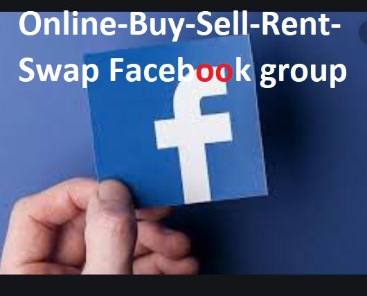 Online-Buy-Sell-Rent-Swap Facebook group