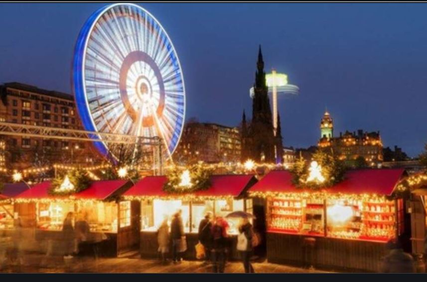 Edinburgh Christmas Markets Hotels